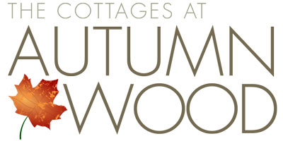 Cottages at Autumn Wood Logo by Kulture Digital in Austin