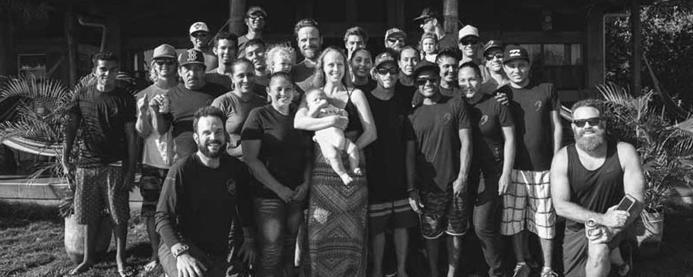 Jeremy and Brian with the Surfari family