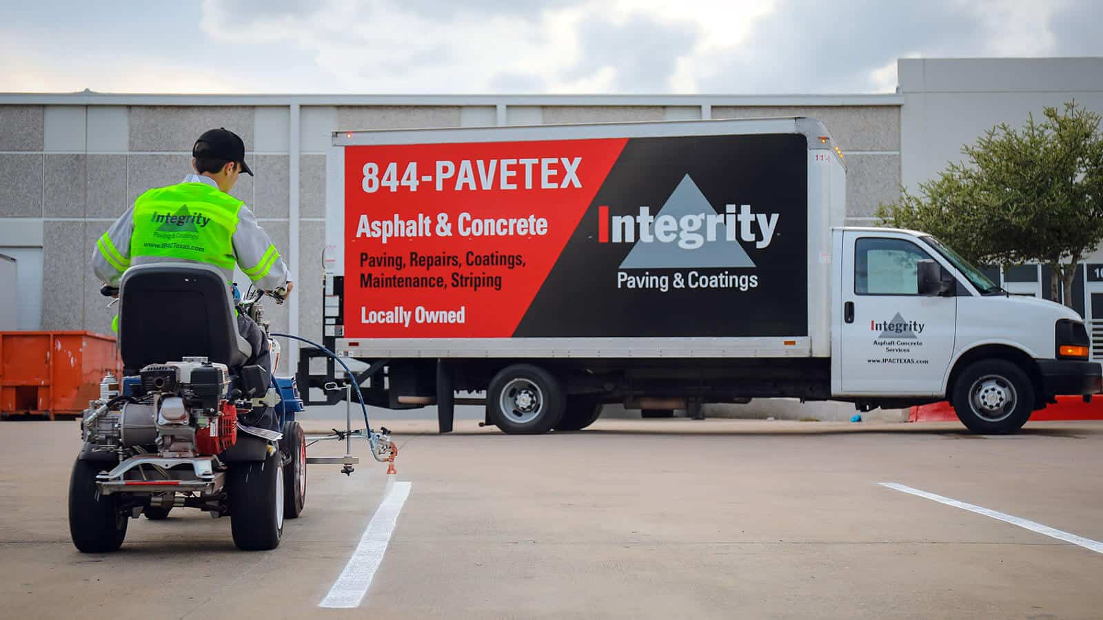 Integrity Paving Website Designed By Kulture Digital In Austin, TX