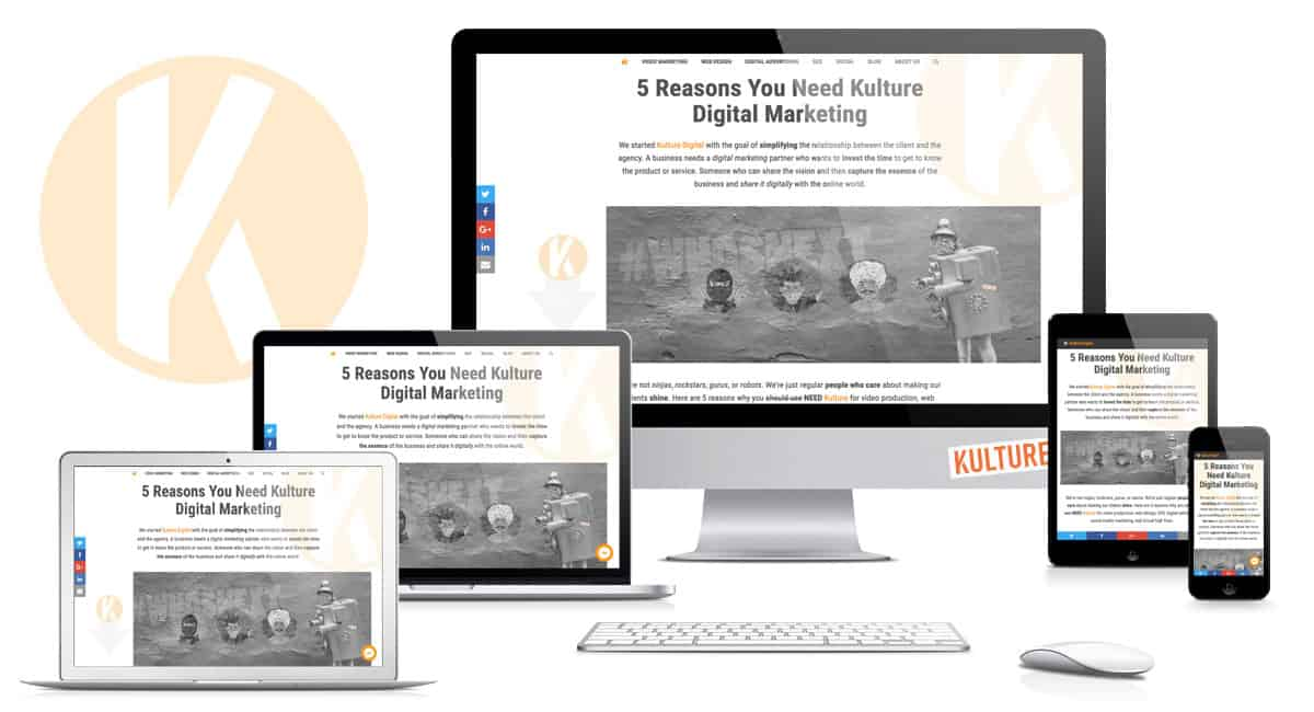 Kulture Digital Website Redesign